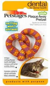 pretzel toy for cats